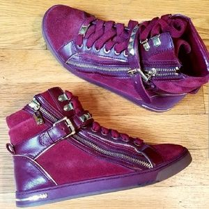 Michael Kors Glam Stud High Tops